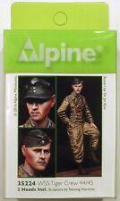Alpine Miniatures 35224 Waffen SS Tiger Crew 44/45 1/35 Scale Model Figure
