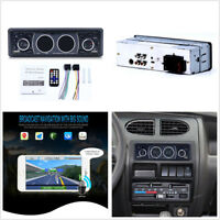 12V 1Din Car Stereo Audio Bluetooth MP3 Player FM Radio AUX TF Card U Disk Play