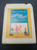 8 Track The Sound of Music Original Soundtrack RCA OBS 1001 Tested