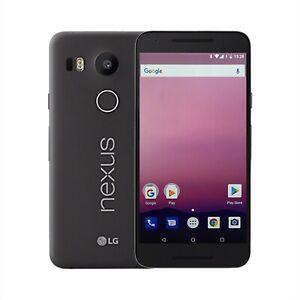 LG Nexus 5X Google 16GB Black Android Mobile Phone Unlocked Carbon SIM FREE UK