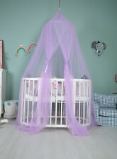 Kids Baby Bed Canopy Bedcover Mosquito Net Curtain Bedding Dome Tent, 7 colors