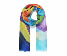 Regenbogen Aquarell Abstract Aufdruck Groß Schal Wrap tolle Geschenkidee