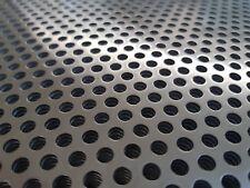 Lochblech Aluminium RV3-5 + RV5-8 in 1mm + 2mm ✔️Blechstreifen Platte Zuschnitt