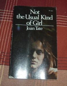 1974 NOT THE USUAL KIND OF GIRL Joan Tate Mystery Missing Person SBS 1st Ptg