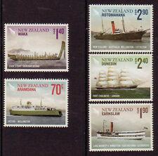 Briefmarken aus Australien, Ozeanien & der Antarktis mit Schiffe-, Boote-Motiv
