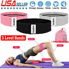 Wide Hip Resistance Band Loop Circle Exercise Workout Fitness Yoga Booty Leg 3PC