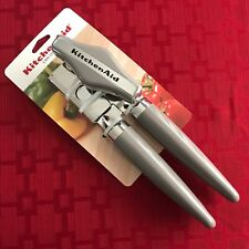 KitchenAid GRAY CAN OPENER BRAND NEW! HIGH-CARBON STAINLESS STEEL BLADE A3-9