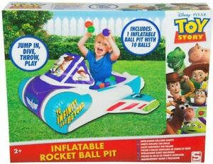 Toy Story Disney 4 Inflatable Playpen Ball Pit Pool Indoor and Outdoor
