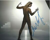 SEXY CHARLOTTE FLAIR SIGNED ESPN BODY ISSUE 8X10 PHOTO C COA PROOF WRESTLING RIC