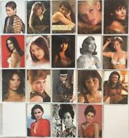 James Bond 50th Anniversary Series One Gold Gallery Chase Card Set GG1 -18