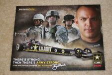 2009 Tony Schumacher U.S. Army Top Fuel NHRA postcard