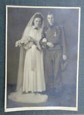 original Portrait  Foto  Panzer Sturmgeschütz Hochzeitsfoto