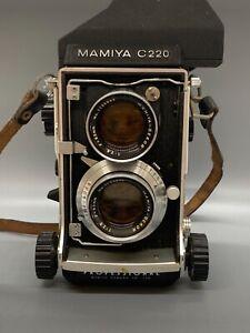 Mamiya C220 Professional TLR Camera / Sekor 80mm f2.8 Lens