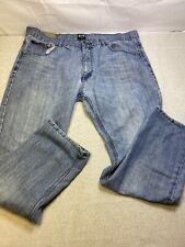 FUSAI Mens Blue Jeans Pants Size 40 x 32