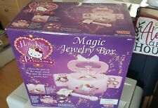 Hello Kitty Magic Jewelry Box (Musical, New Never Been Used, Battery Operated)