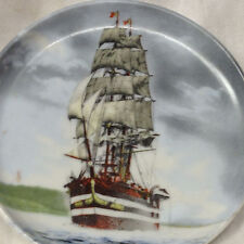 "KAISER GERMANY AMERIGO VESPUCCI COASTER 4"" WINDJAMMER SHIP ON OCEAN SAILBOAT 527"