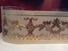 wunderschöne Barock Bordüre GOLD,CARMEL ,VERSAC 5m lang 17,7 cm bre