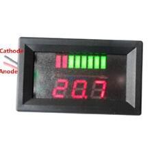 DEL 12 V Capacité de la Batterie Indicateur de niveau de charge ACIDE-PLOMB DEL Testeur Voltmètre