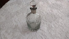 Vintage Large Glass Paperweight Empty Scent Perfume Bottle Art Deco