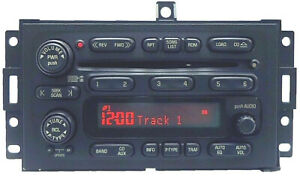 05 Pontiac Grand Prix Radio 6 Disc Changer CD Player 10365415
