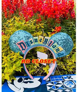 New 2020 Disney Parks exclusive Disneyland Marquee sign Ears ear Headband