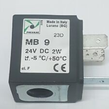 Pneumax MB9 24v DC, 2 watt Solenoid Coil, New for use with Pneumax Valves MB 9