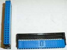 BLUE 80wire 40pin Female IDC/IDS Ribbon Cable/Cord IDE/PATA Crimp end/terminator
