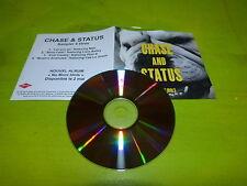 CHASE AND STATUS - NO MORE IDOLS  - SAMPLER!!!!FRENCH PROMO CD!!!!!!!