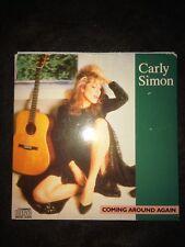 CARLY SIMON - COMING AROUND AGAIN (1986) RARE EARLY CD SINGLE