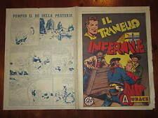FURIO ALMIRANTE EDIZIONE AUDACE NUMERO 66- 1 MAGGIO 1947 IL TRANELLO INFERNALE