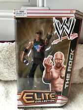 2011 Mattel WWE The Rock Elite Collection Series 14 Figure Mic Sunglasses Pants