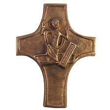 Bronzekreuz Auferstehung 11 cm * 8 cm Kommunion bronze Cross resurrection