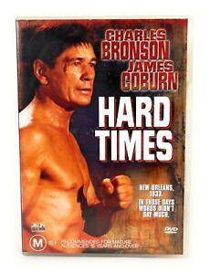 Hard Times (DVD, 1975) Charles Bronson Region 4 Free Postage