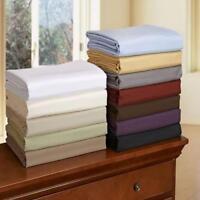 Metropolitan Luxury Hotel Collection 500TC King Sheet Set Stripe- Ivory-New