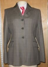 Ladies Barbour Hacking Jacket - Olive Tweed Size 14 - Great For Showing
