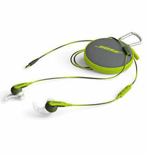 Bose SoundSport Apple In-ear Headphones - Energy Green