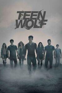 TEEN WOLF POSTER WALL ART - CHOOSE SIZE - FRAMED OPTION 01