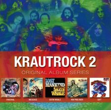 VARIOUS/KRAUTROCK - ORIGINAL ALBUM SERIES VOL.2 5 CD NEUF