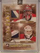 Patrick ROY - Carey PRICE /5 DUAL PATCH 2012-13 BETWEEN The PIPES MADE To ORDER