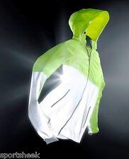 Nike Mens Flash Shield Jacket Windrunner Reflective 3m SZ L Volt 553680 702
