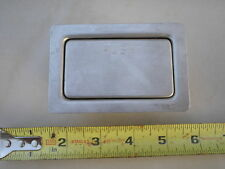 Stainless Steel Arm Rest Ashtray / Auto / Aircraft / Bench Seat / Home FREE SHIP