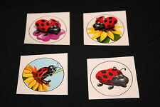18 x Lady Bug Tattoos Great for Kids Parties or Stocking Fillers