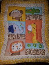 Kids Line Safari Baby Quilt 33x43