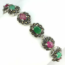 Emerald Heating Natural Stone Fine Bracelets