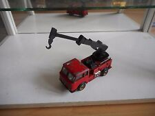Penny Esadelta Crane Truck in Red on 1:66