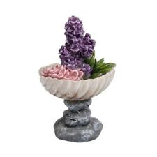 Vivid Miniature World MW03-013 Resin Pebble Planter Ornament by Vivid Arts