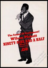 1966 Wilson Pickett photo Ninety Nine and a Half record release trade print ad