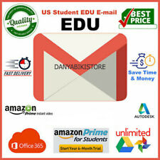 Edu Email 6 Months Amazon Prime Unlimited Google Drive New US Student Email