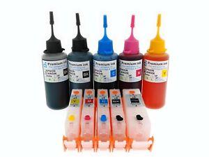 refillable ink cartridge kits PGI580 CLI581 Canon Pixma TS9150 TS8152 NON OEM