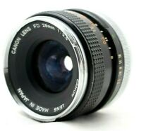 Canon FD 28mm 1:2.8 Lens *As Is* #HK06a